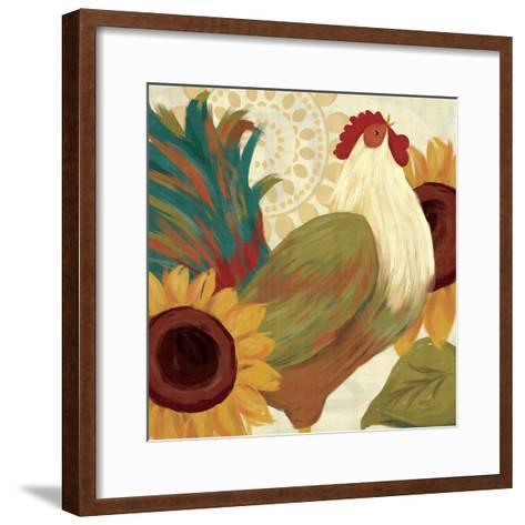 Spice Roosters I-Veronique Charron-Framed Art Print