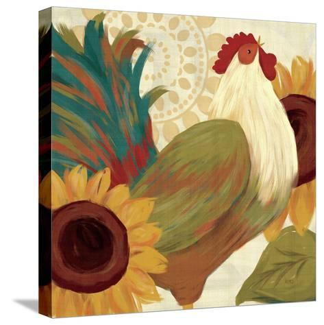 Spice Roosters I-Veronique Charron-Stretched Canvas Print