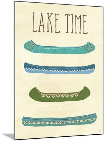 Lake Retreat V-Veronique Charron-Mounted Art Print