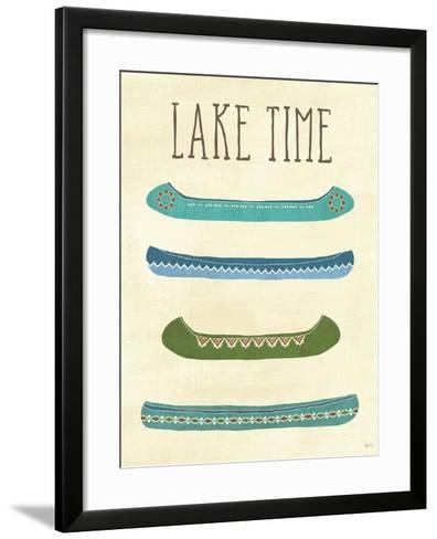 Lake Retreat V-Veronique Charron-Framed Art Print