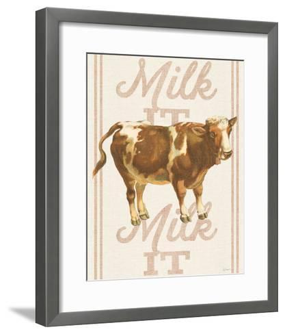 Milk it Milk it-Sue Schlabach-Framed Art Print