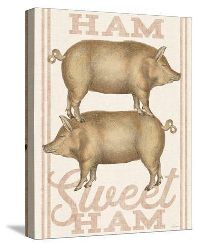 Ham Sweet Ham-Sue Schlabach-Stretched Canvas Print