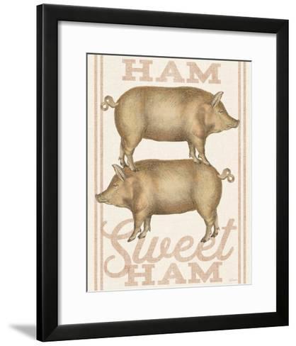 Ham Sweet Ham-Sue Schlabach-Framed Art Print