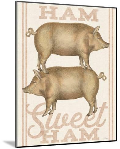 Ham Sweet Ham-Sue Schlabach-Mounted Art Print