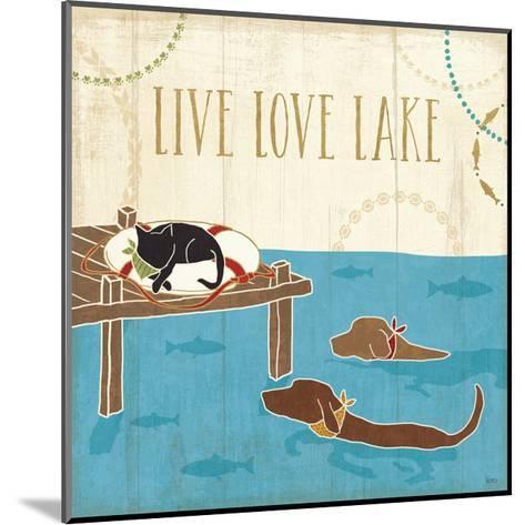 Lake Pals V-Veronique Charron-Mounted Art Print