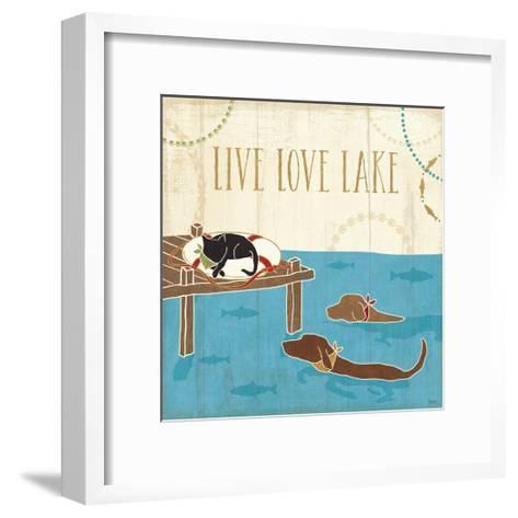 Lake Pals V-Veronique Charron-Framed Art Print