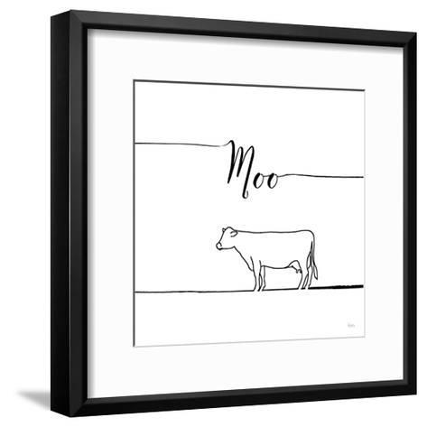 Underlined Farm VII-Veronique Charron-Framed Art Print