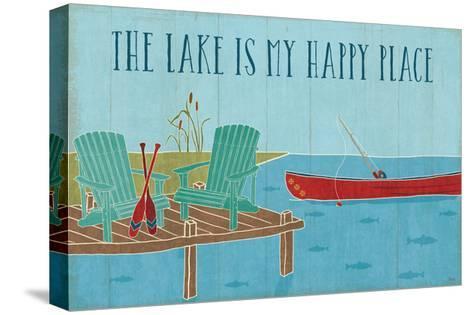 Lake Pals II-Veronique Charron-Stretched Canvas Print