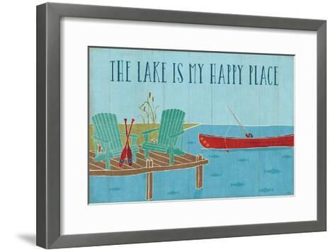Lake Pals II-Veronique Charron-Framed Art Print