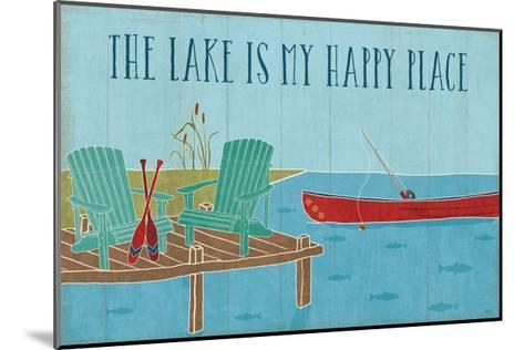 Lake Pals II-Veronique Charron-Mounted Art Print
