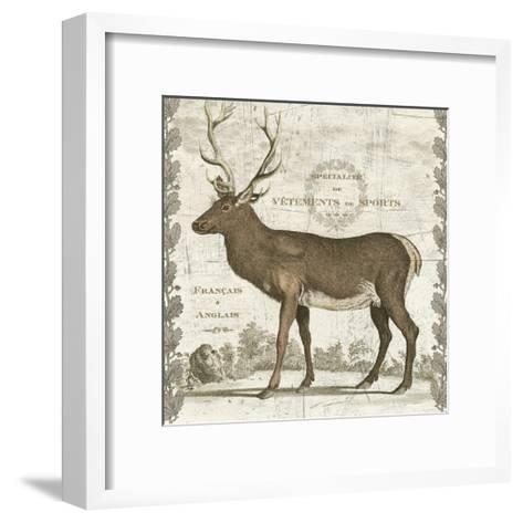 Regal Stag Sq-Sue Schlabach-Framed Art Print