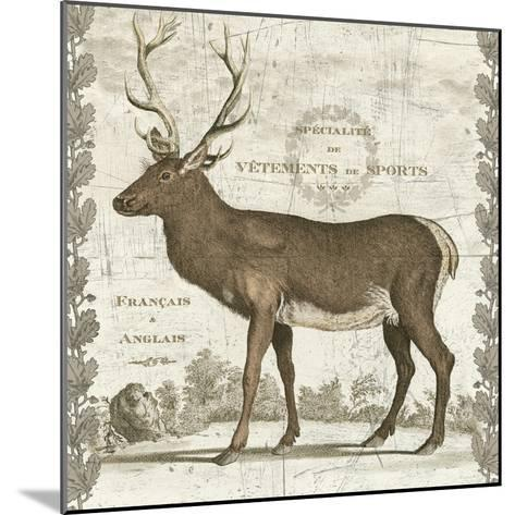 Regal Stag Sq-Sue Schlabach-Mounted Art Print