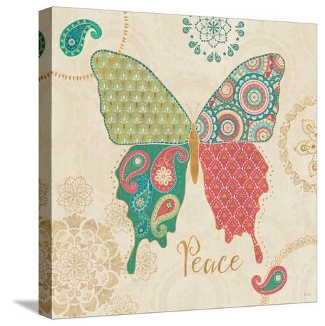 Gypsy Wings Bright I-Veronique Charron-Stretched Canvas Print
