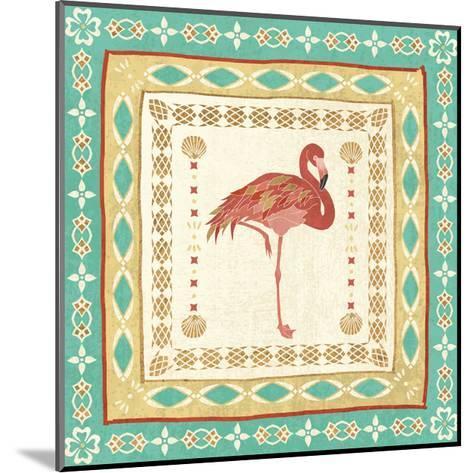 Gulf Stream Tile II-Veronique Charron-Mounted Art Print