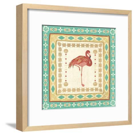 Gulf Stream Tile II-Veronique Charron-Framed Art Print