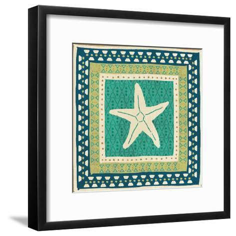Coastal Treasure VIII-Veronique Charron-Framed Art Print