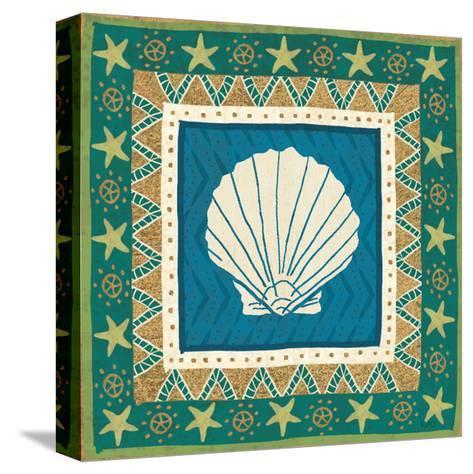 Coastal Treasure X-Veronique Charron-Stretched Canvas Print