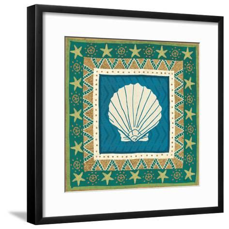 Coastal Treasure X-Veronique Charron-Framed Art Print