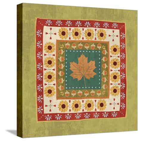 Autumn Song Tiles II-Veronique Charron-Stretched Canvas Print