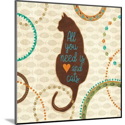 Cats Life VI-Veronique Charron-Mounted Art Print