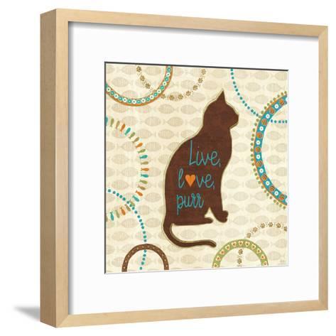 Cats Life VII-Veronique Charron-Framed Art Print