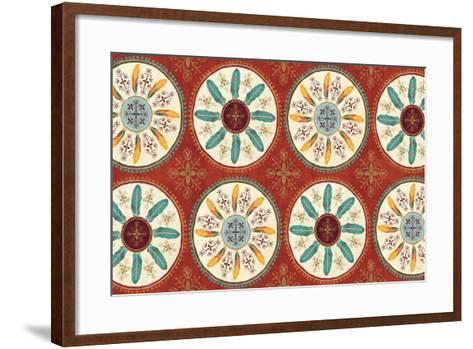 At the Barn V-Veronique Charron-Framed Art Print