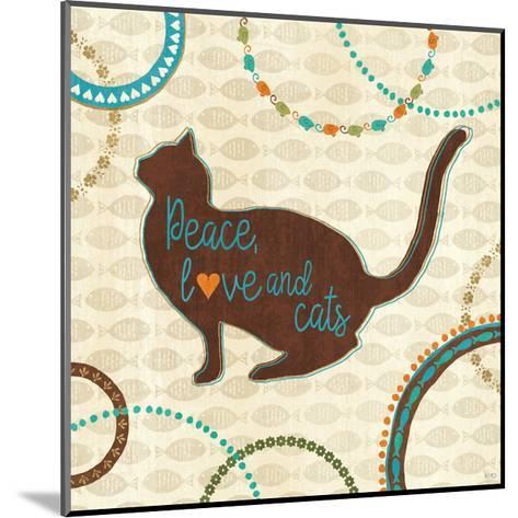Cats Life VIII-Veronique Charron-Mounted Art Print