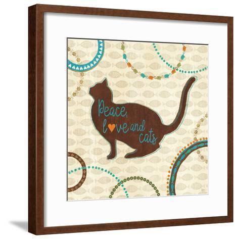 Cats Life VIII-Veronique Charron-Framed Art Print