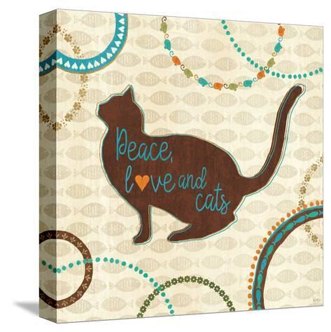 Cats Life VIII-Veronique Charron-Stretched Canvas Print
