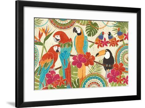 Exotic Breeze I-Veronique Charron-Framed Art Print
