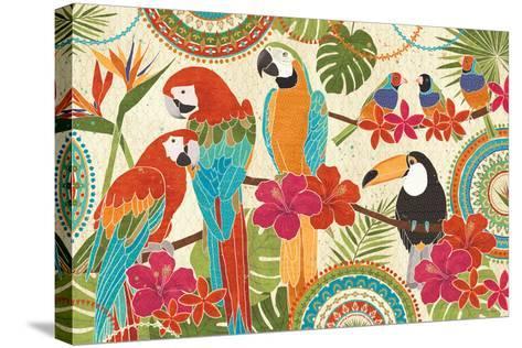 Exotic Breeze I-Veronique Charron-Stretched Canvas Print