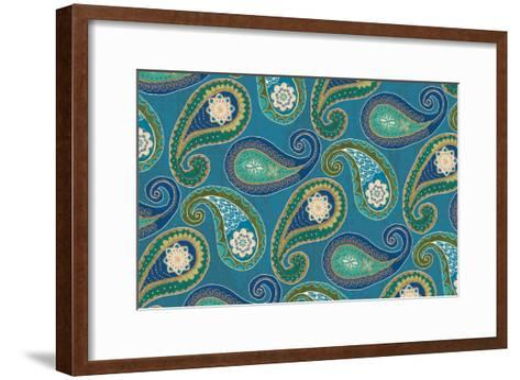 Peacock Paradise X-Veronique Charron-Framed Art Print