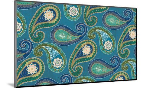 Peacock Paradise X-Veronique Charron-Mounted Art Print