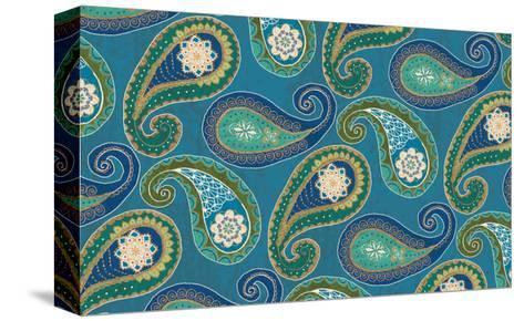 Peacock Paradise X-Veronique Charron-Stretched Canvas Print
