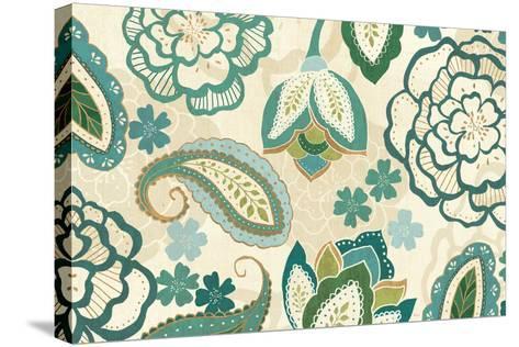 Garden Lace I-Veronique Charron-Stretched Canvas Print