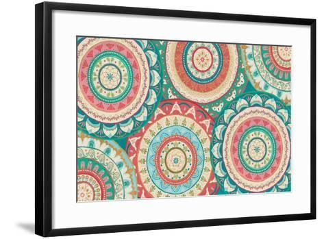 Gypsy Wings Bright XII-Veronique Charron-Framed Art Print