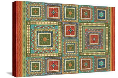 Mexican Fiesta XI-Veronique Charron-Stretched Canvas Print