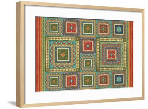 Mexican Fiesta XI-Veronique Charron-Framed Art Print