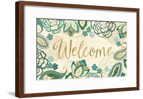 Garden Lace IV-Veronique Charron-Framed Art Print