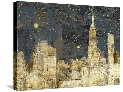 Night Life-Edward Selkirk-Stretched Canvas Print