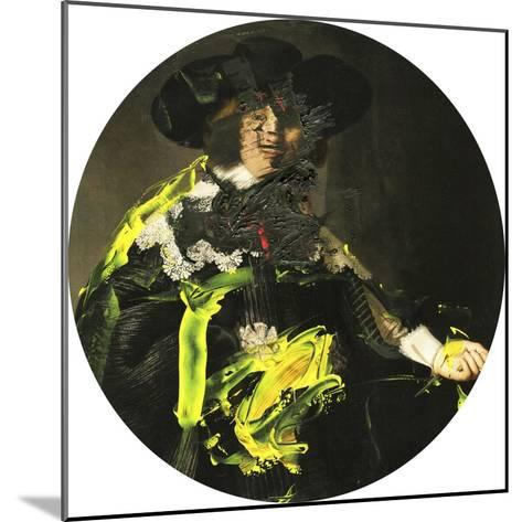 Yellow Vanguard I-PI Studio-Mounted Art Print