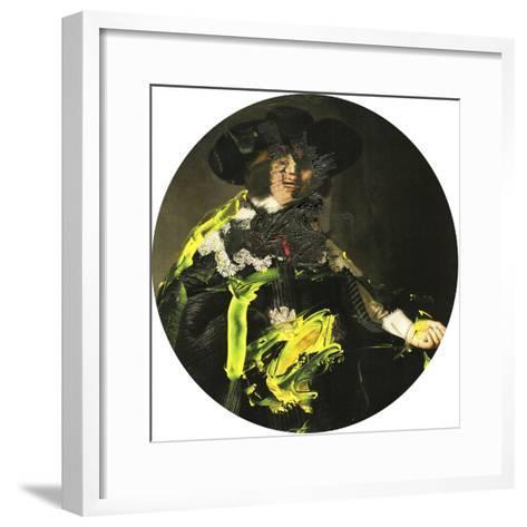 Yellow Vanguard I-PI Studio-Framed Art Print