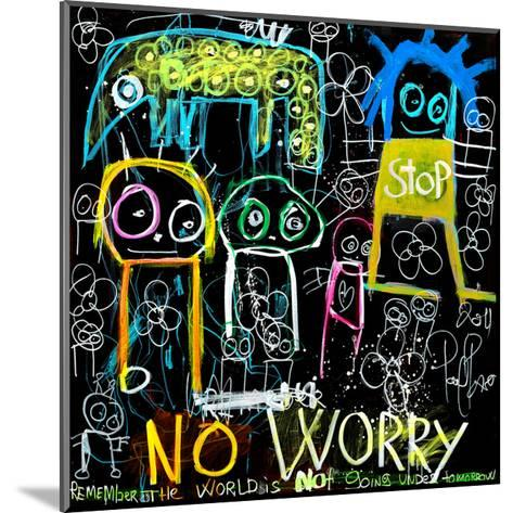 Stop No Worry-Poul Pava-Mounted Art Print