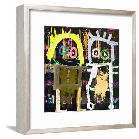 Me and You-Poul Pava-Framed Art Print
