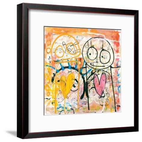 I Really Love You-Poul Pava-Framed Art Print