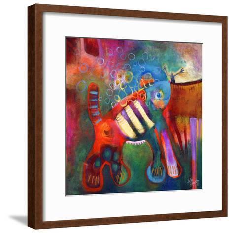 Overgrown Pet-Susse Volander-Framed Art Print