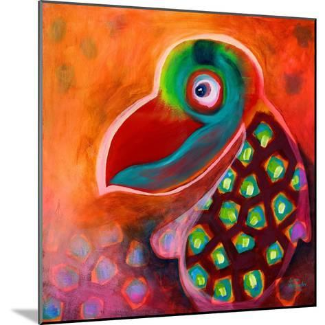 The Wise Parrot-Susse Volander-Mounted Art Print