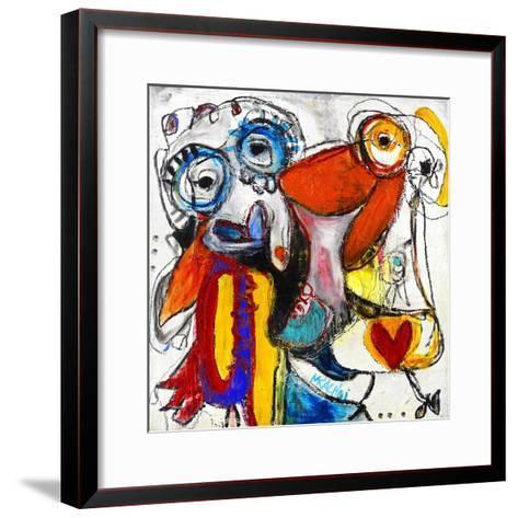 Friends-Martin Kalhoej-Framed Art Print