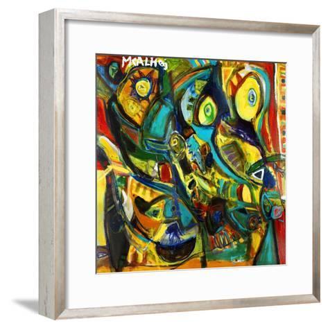 Catch Me If You Can-Martin Kalhoej-Framed Art Print
