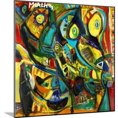 Catch Me If You Can-Martin Kalhoej-Mounted Art Print
